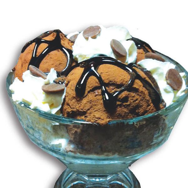 Трюфель мороженое
